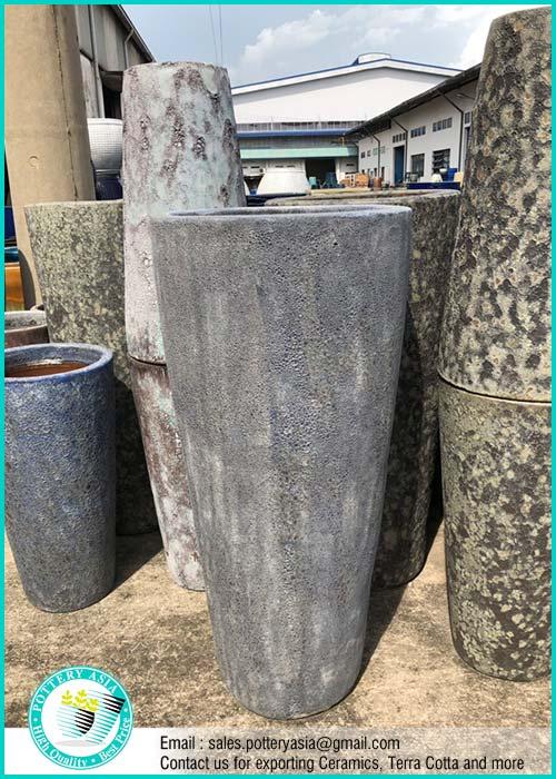 Tall Ceramic Garden Pots