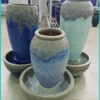 Decorative Ceramic Water Fountain Pots