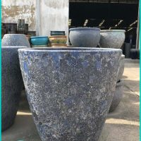 Large Ceramic Garden Pots - Cement Type