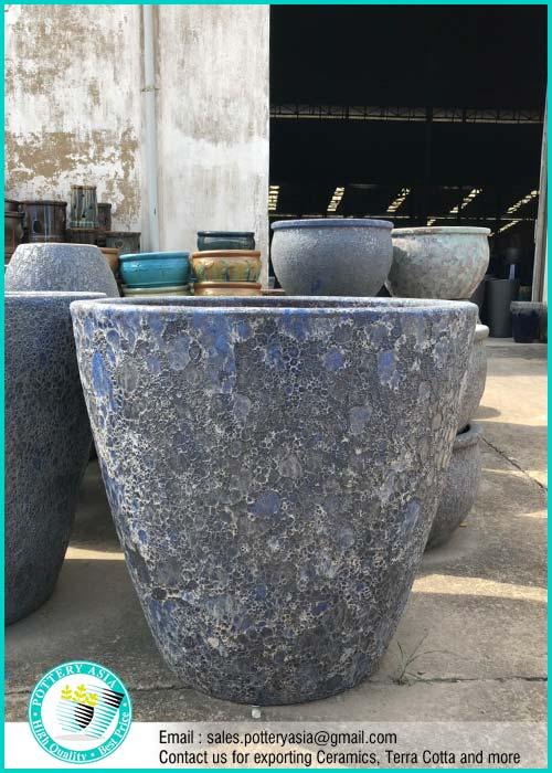 Large Ceramic Garden Pots - Cement Type