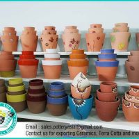 Flower Pots - Terra Cotta Decorative Planters