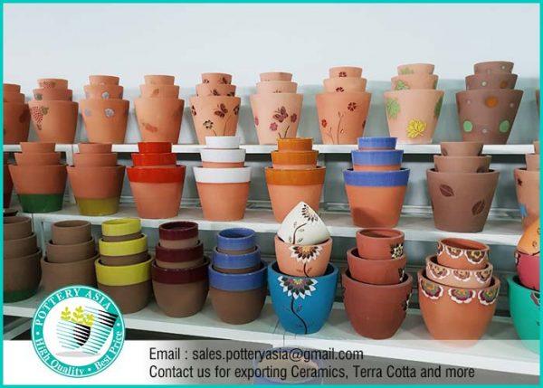 Flower Pots - Terra Cotta Decorative Planters