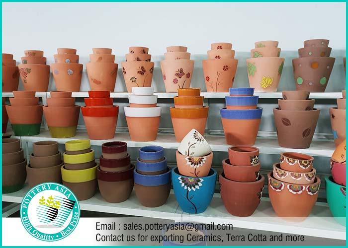 Terra Cotta Decorative Planters