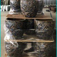 Vintage Garden Large Pots