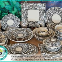 Dinnerware Set Small Fish Pattern