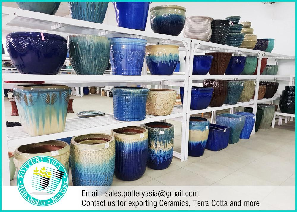 pottery asia - Glazed Ceramic Pots