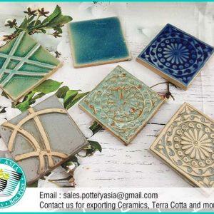 Ceramic Tile Square Decorative , Kitchen Tiles
