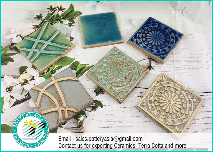 Ceramics Tile Square Decorative , Kitchen Tiles