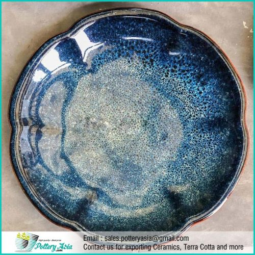 Dinnerset Ceramic Luxury Cobalt shiny Glaze