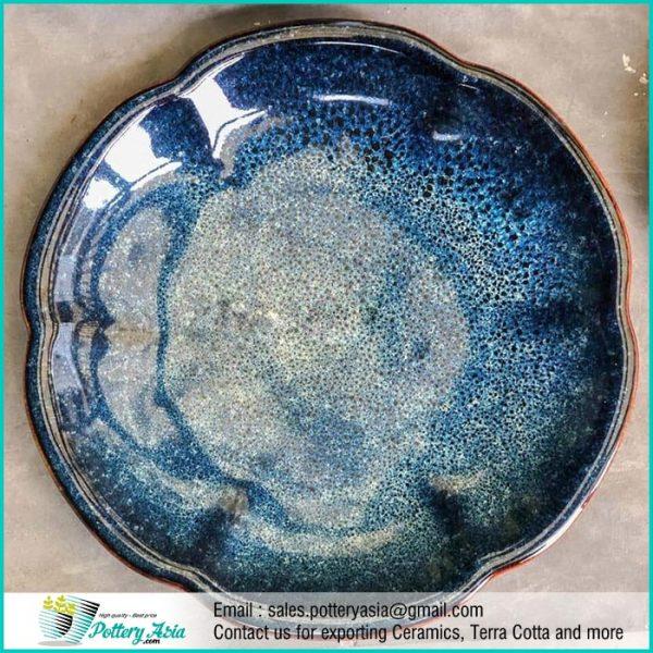Dinnerset Ceramic Luxury Cobalt shiny Glaze