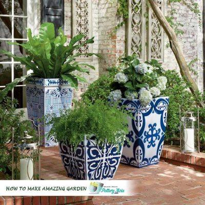 Pottery Asia Magazine, ceramic planter pots, garden pots