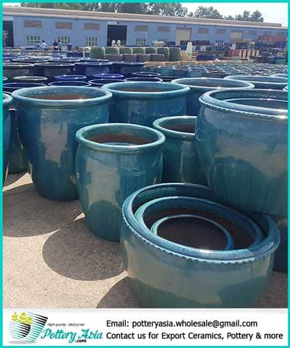 Large ceramic planter pots with the best wholesale prices