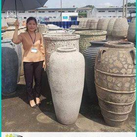 Sản xuất gốm sứ trang trí, chậu gốm sứ, đài phun nước sân vườn