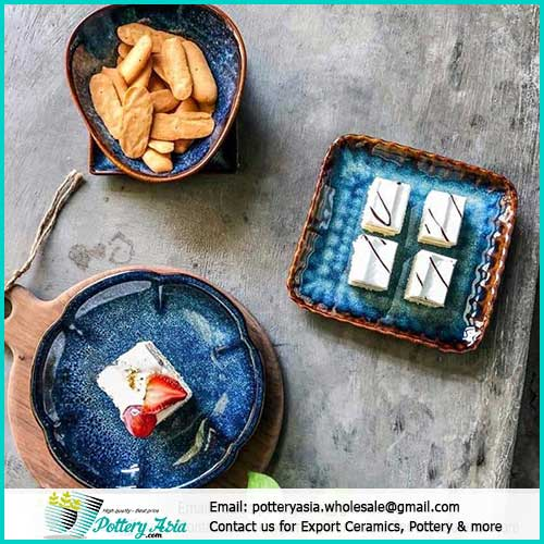 Order enamelled porcelain and ceramic dinnerware sets at Pottery Asia
