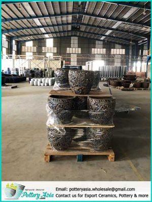 Ceramic supplier in Vietnam, Ceramic planter pots manufacturer