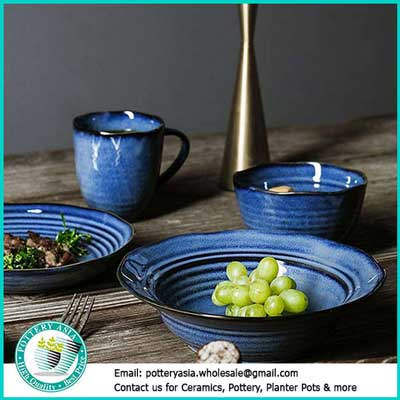 ceramic tableware wholesale vietnam. Ceramics import from Pottery Asia - Vietnam