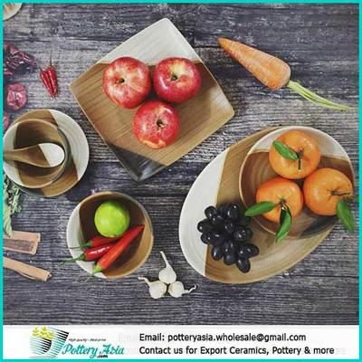 Quy trình xuất khẩu hàng gốm sứ, bát đĩa sứ, chậu trồng cây