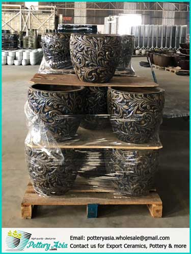 Large Ceramic Pots, Decorate the house and garden with ceramic plant pots