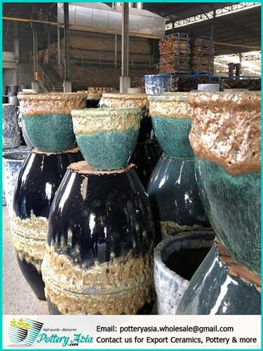 Supplier of wholesale ceramic pots in Vietnam - Asia